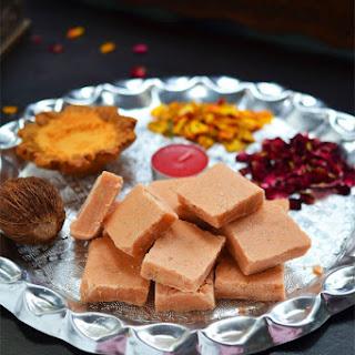 Maida Burfi | Maida Cake | Easy Diwali Sweets Recipes