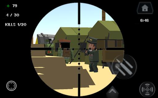 Pixel Smashy War - Gun Craft screenshot 11