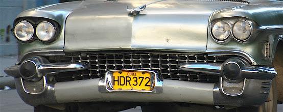 Photo: old vintage american car, cuba. Tracey Eaton photo.