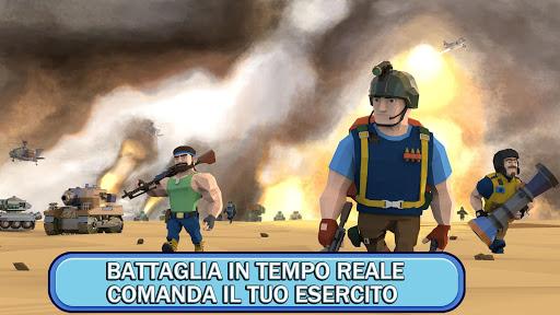 Commander At War - Battle With Friends Online!  άμαξα προς μίσθωση screenshots 2