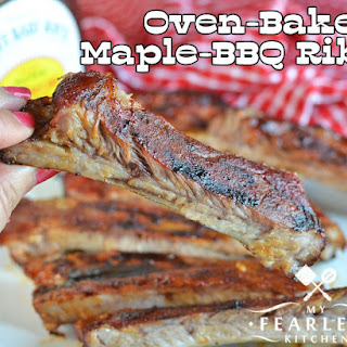Oven-Baked Maple-BBQ Ribs Recipe