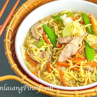 Pancit Bato Noodle Soup