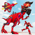 Raptor Robot Games: Drone Robot Grand Hero icon