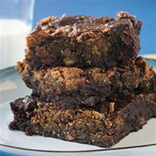 Gluten Free Almond Swirl Brownies.