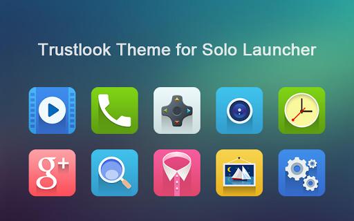 Trustlook Theme-Solo Launcher