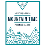 New Belgium Mountain Time Lager