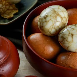 Taiwanese Tea Eggs.