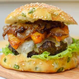 Jalapeno Pineapple Burger.