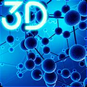 Particle Molecules 3D Live Wallpaper