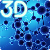 Particle Molecules 3D Live Wallpaper