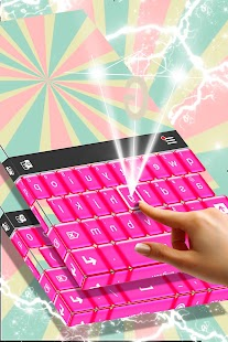 Pink Candy Theme for Keyboard - náhled