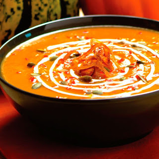Tangy Roasted Pumpkin Soup