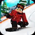 Snowboard Craft: Freeski, Sled Simulator Games 3D icon