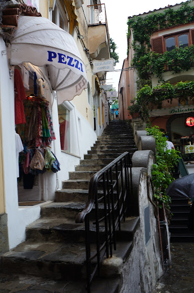 Staircase in Positano, Italy (2015)