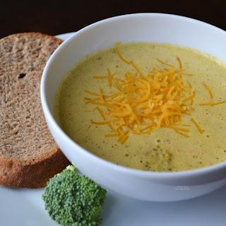 Broccoli Cheese Soup Crockpot Recipe