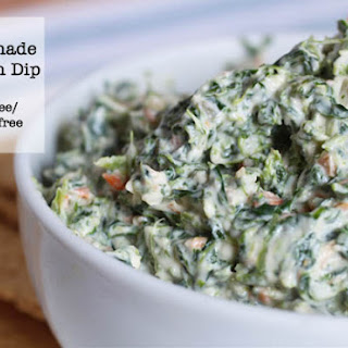 Homemade Spinach Dip.
