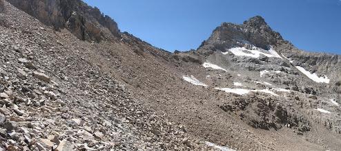 Photo: перевальный взлет на пер.Джалпакол Южный