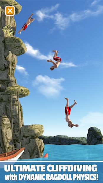 Flip Diving Android App Screenshot