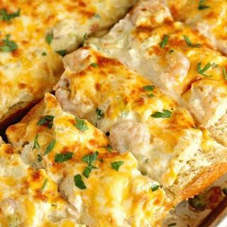Shrimp & Artichoke French Bread