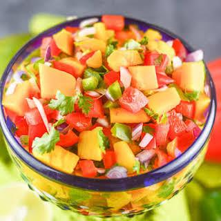 Mango Habanero Salsa.