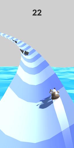 Aquapark Slide.io screenshot 4