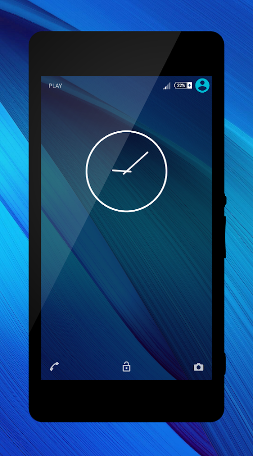 Modern Blue Theme + Icons - Android Apps on Google Play