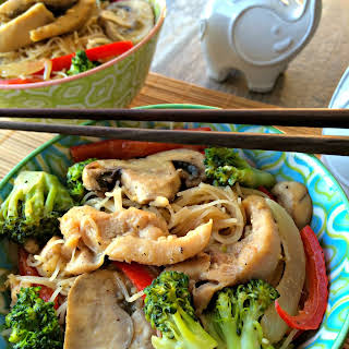 Vermicelli Noodles Chicken Stir Fry Recipes.