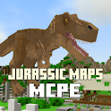 Maps Jurassic Craft World for MCPE icon