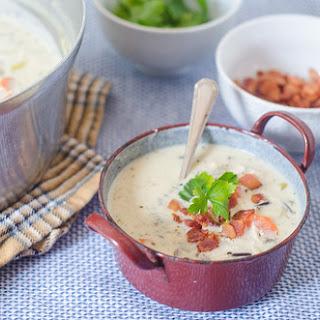 Creamy Chicken & Wild Rice Soup