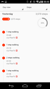 PlexFit for Pebble- screenshot thumbnail