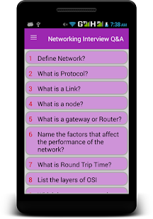 Networking Interview Q&A - náhled