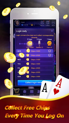 Pocket Poker Pro: One Handed. screenshot 2