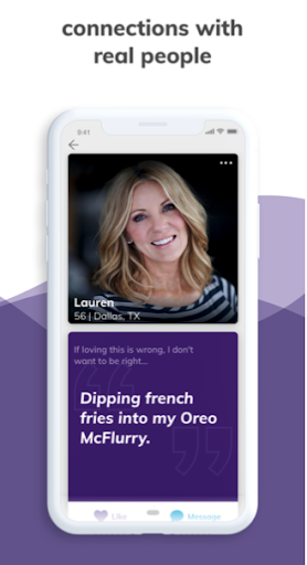 OurTime Dating for Singles 50+ 2.1.2 screenshots 5