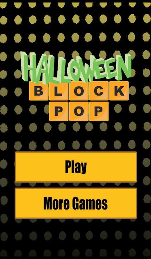 Halloween Block Pop- screenshot