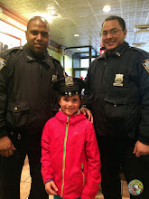 Photo: Marguerite et la police de New York