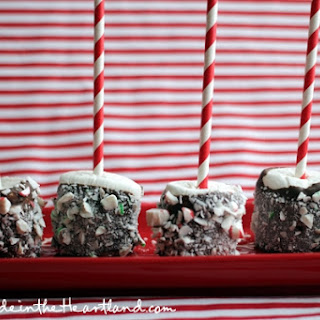 Peppermint Hot Chocolate Marshmallow Straws