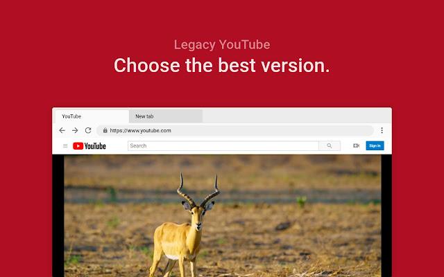 اضافة تحسين عرض مقاطع يوتيوب