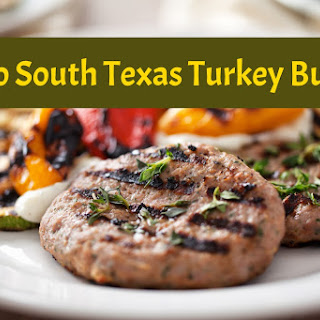 Paleo/Whole30 South Texas Turkey Burgers.