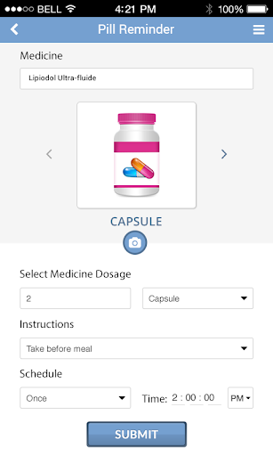 Pill Identifier and Drug list Screenshot