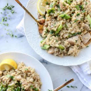 Lemon Chicken Risotto Recipe
