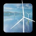 Coastal Wind Farm 3D Live Wallpaper icon