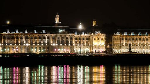 France-Bordeaux-Place - Place de la Bourse is one of the most visited landmarks in Bordeaux, France.