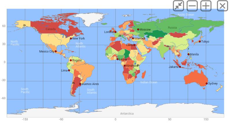 World atlas & world map MxGeo Pro Screenshot 4