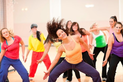 Zumba Dance For Fitness Exercise Video - náhled