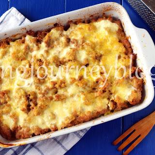Zucchini Lasagna With Chicken.