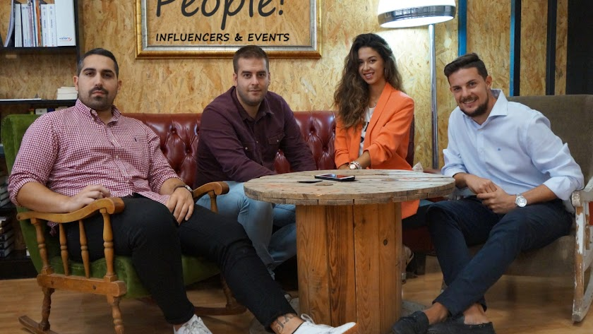 People, la primera agencia de influencers de Almería.