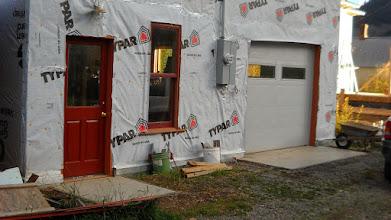 Photo: New concrete, September 2013