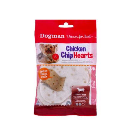 Chicken chip hearts 30 g 4 st
