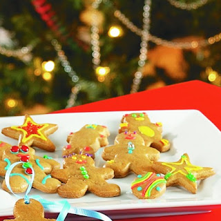 Maple Syrup Gingerbread Cookies Recipe