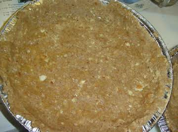 Gluten Free Nutty Pie Crust!